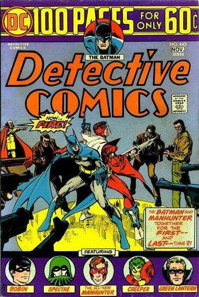 Detective Comics #443 comic books for sale