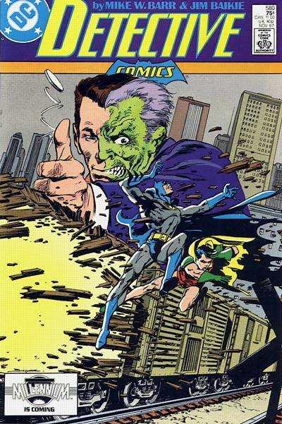 Detective Comics #580 comic books for sale
