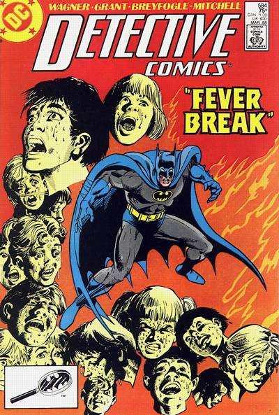 Detective Comics #584 comic books for sale