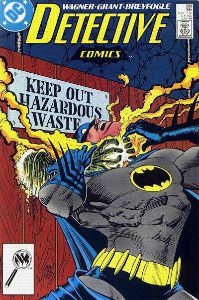 Detective Comics #588 comic books for sale