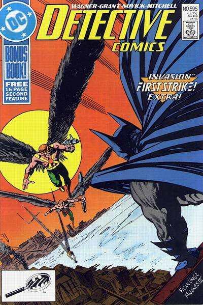 Detective Comics #595 comic books for sale