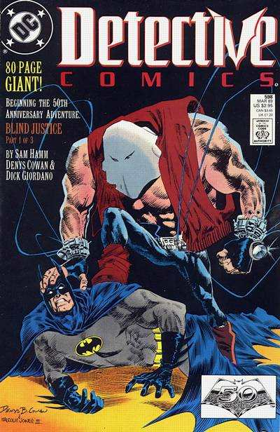 Detective Comics #598 comic books for sale