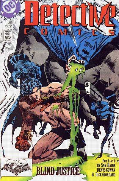 Detective Comics #599 comic books for sale