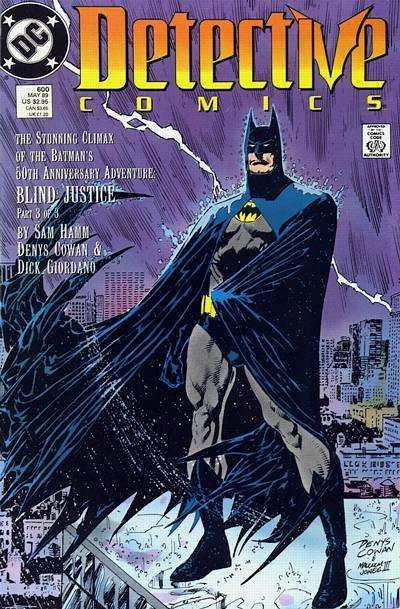 Detective Comics #600 comic books for sale