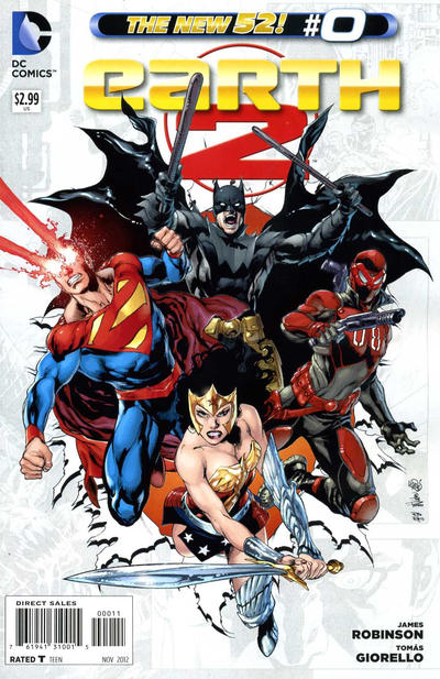 Earth 2 Comic Books. Earth 2 Comics.