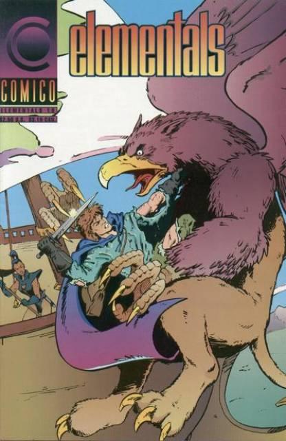 Elementals 1989 series # 2 near mint comic book