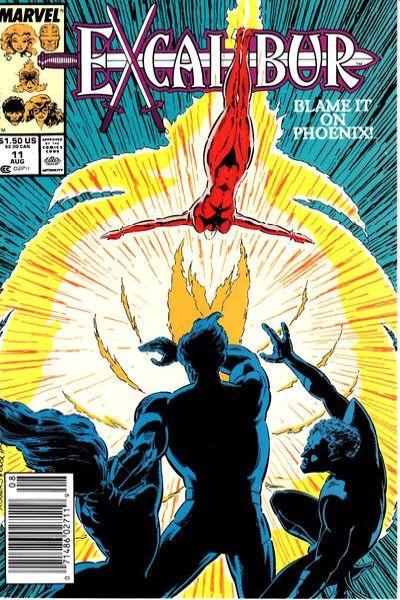 Excalibur 1988 series # 17 very fine comic book