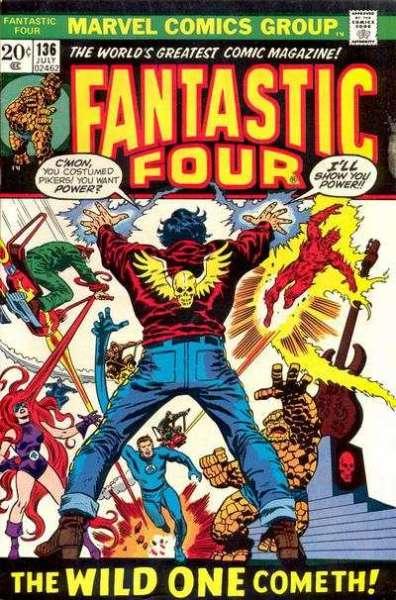 Fantastic Four #136 comic books for sale
