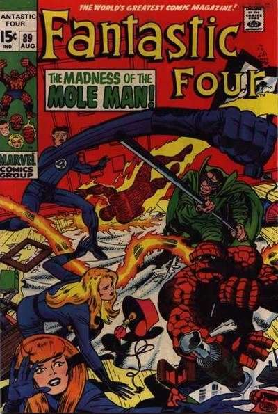 Fantastic Four #89 comic books for sale