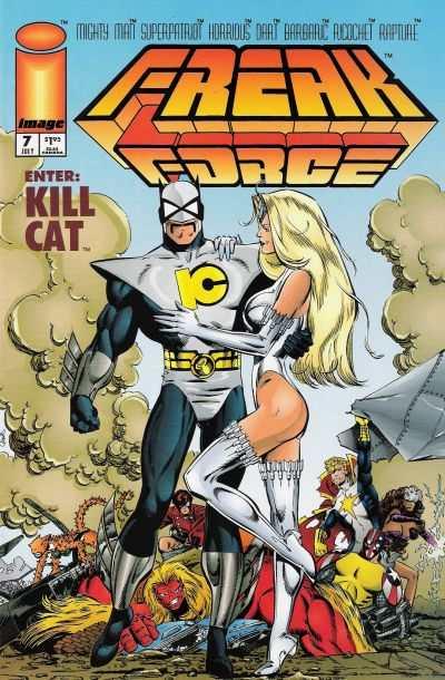 Freak Force 1993 series # 1 near mint comic book
