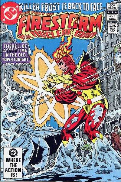 Firestorm 1982 series # 99 very fine comic book