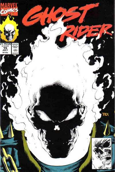 Ghost Rider 1990 series # 6 near mint comic book