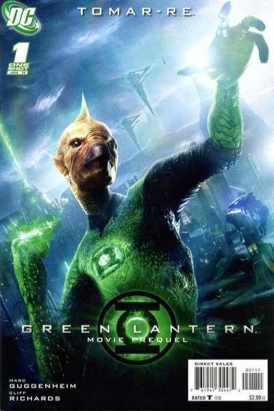 Green Lantern Movie Prequel Tomar-Re #1 in Near Mint condition. DC comics [*42]