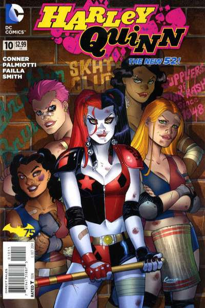 Harley Quinn #10 comic books for sale