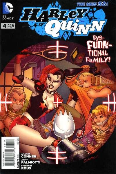 Harley Quinn #4 comic books for sale