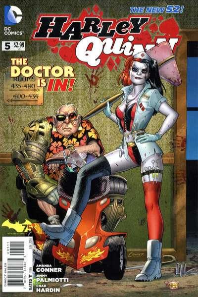 Harley Quinn #5 comic books for sale