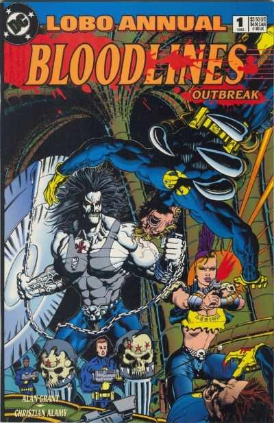 Lobo 1993 series # 6 near mint comic book