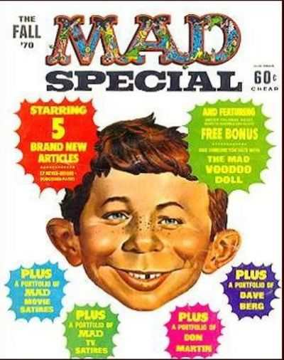 Mad Special Comic Books. Mad Special Comics.