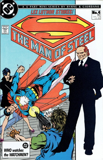 Man of Steel (1986 series) #4, VF+ (Stock photo)