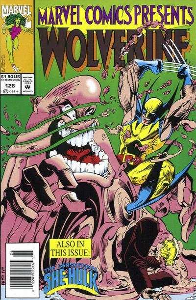Marvel Comics Presents 1988 series # 66 near mint comic book
