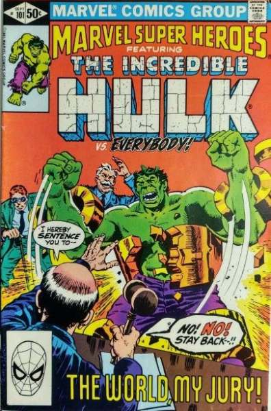 Marvel Super-Heroes #101 comic books for sale