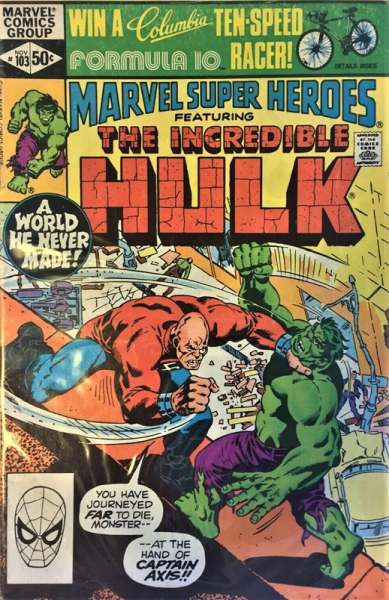 Marvel Super-Heroes #103 comic books for sale