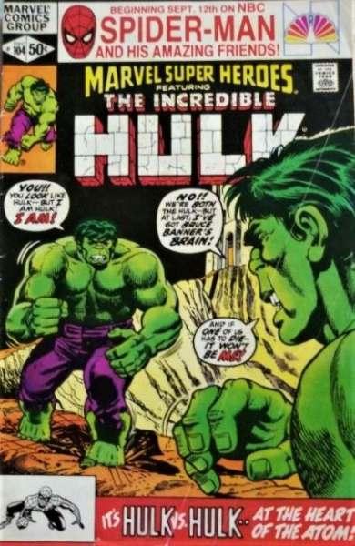 Marvel Super-Heroes #104 comic books for sale