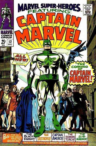 Marvel Super-Heroes comic books