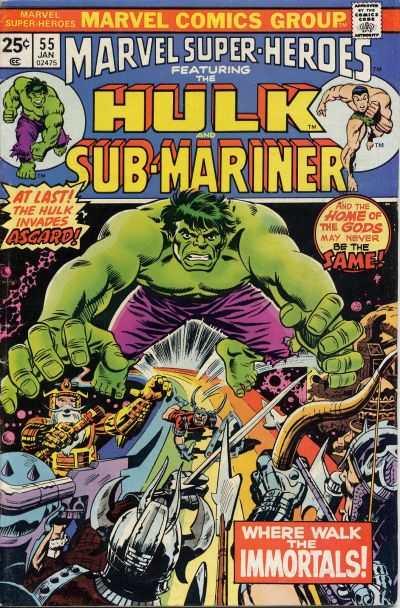 Marvel Super-Heroes #55 comic books for sale