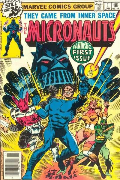Micronauts Comic Books. Micronauts Comics.