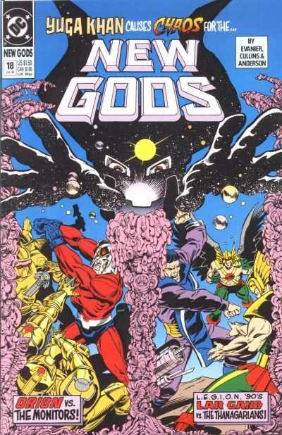 New Gods 1989 series # 6 near mint comic book