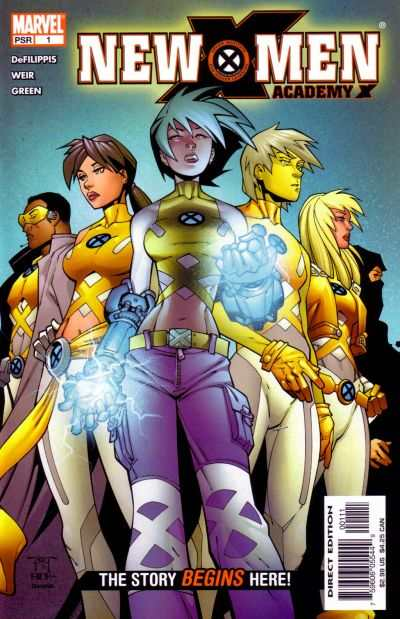 New X-Men Academy X Comic Books. New X-Men Academy X Comics.