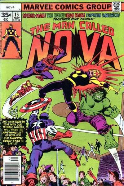 Nova #15 comic books for sale