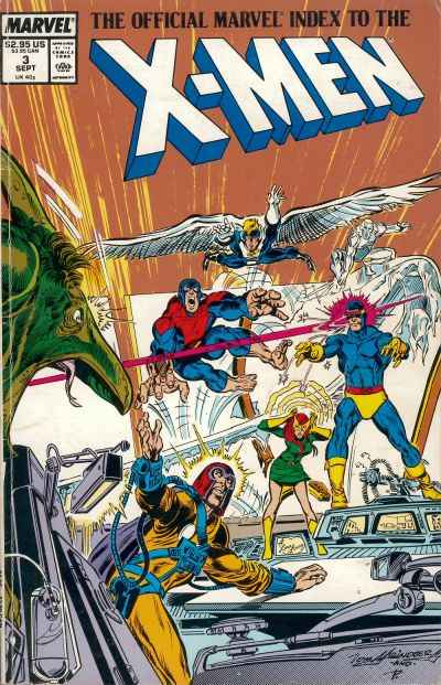 Official Marvel Index to the X-Men (1987 series) #3, NM (Stock photo)