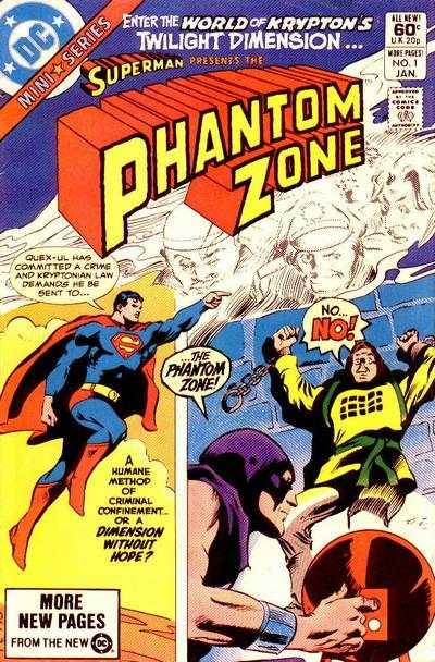 Phantom Zone Comic Books. Phantom Zone Comics.