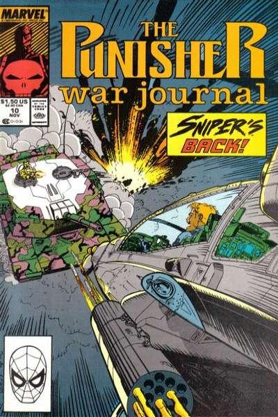 PUNISHER WAR JOURNAL #18 NEAR MINT MARVEL 1988 UNREAD COPY #R-1191