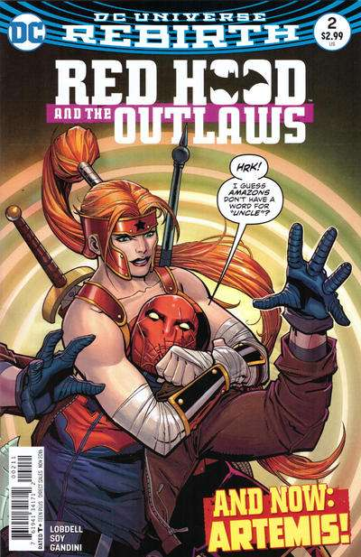 Red Hood and the Outlaws #2 comic books for sale
