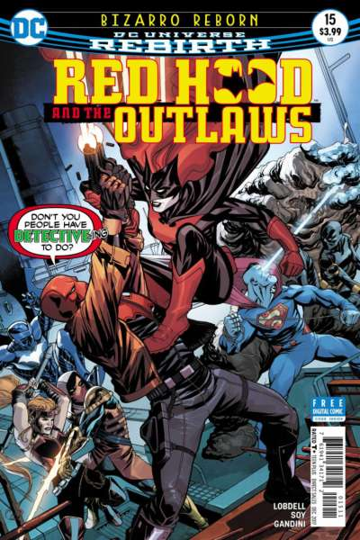 Red Hood and the Outlaws #15 comic books for sale