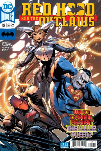 Red Hood and the Outlaws #18 comic books for sale
