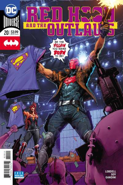 Red Hood and the Outlaws #20 comic books for sale