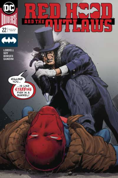 Red Hood and the Outlaws #22 comic books for sale