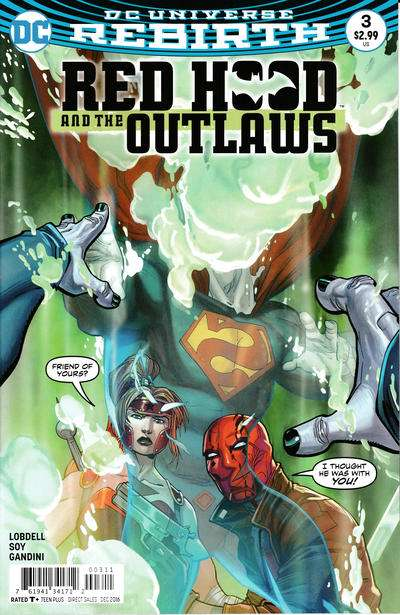 Red Hood and the Outlaws #3 comic books for sale