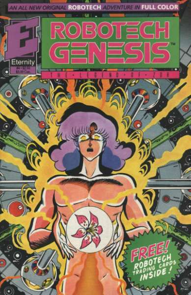 GENESIS 1992 Eternity Comic #6 w//Trading Cards The Legend of Zor ROBOTECH