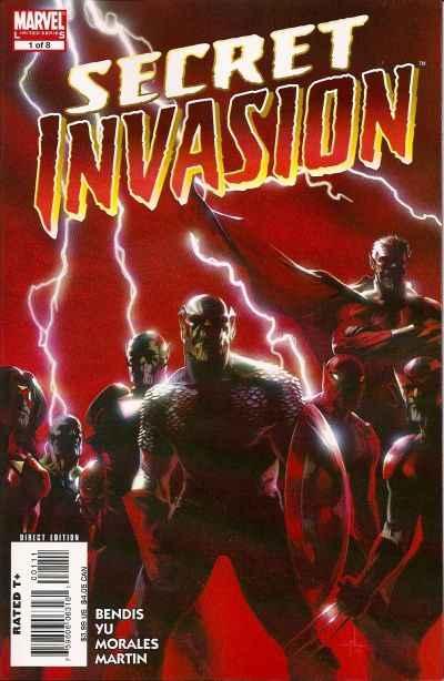Secret Invasion Comic Books. Secret Invasion Comics.