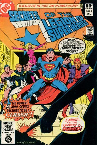 Secrets of the Legion of Super-Heroes Comic Books. Secrets of the Legion of Super-Heroes Comics.