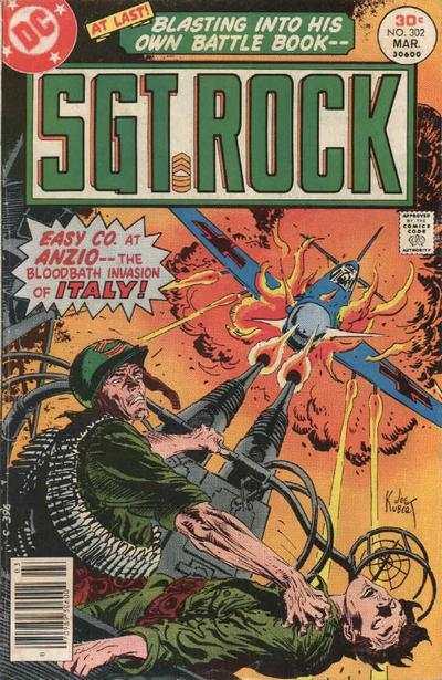 Sgt. Rock Comic Books. Sgt. Rock Comics.