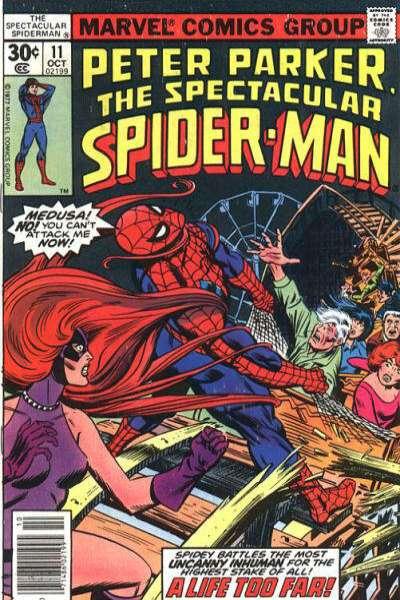 Spectacular Spider-man 1976 series # 165 very fine comic book