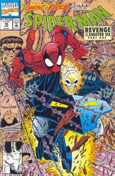 Spider-Man (1990 series) #18, NM (Stock photo)