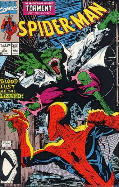 Spider-Man (1990 series) #2, NM- (Stock photo)