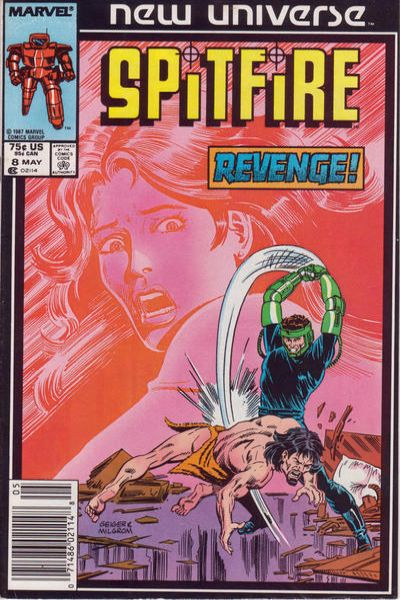 1986 Marvel Comics Spitfire and the Troubleshooters #1